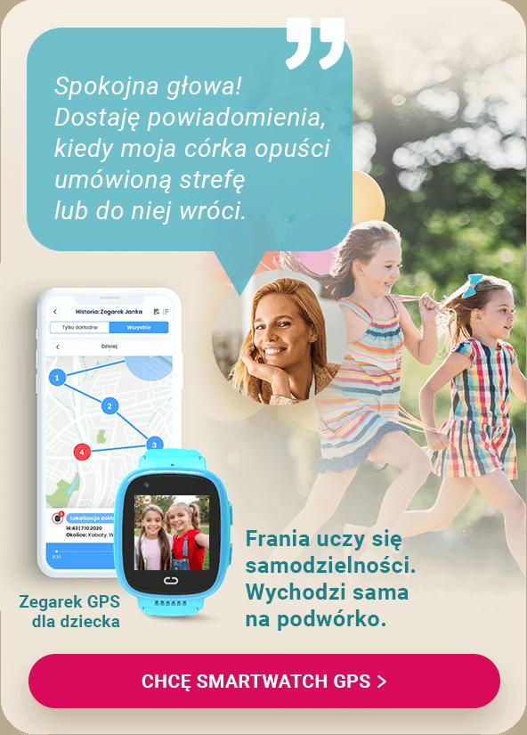 Smartwatch Locon Watch Video z aplikacją na telefon dla rodzica